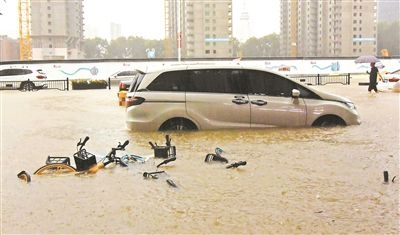 河南部分河流发生超警及超历史洪水